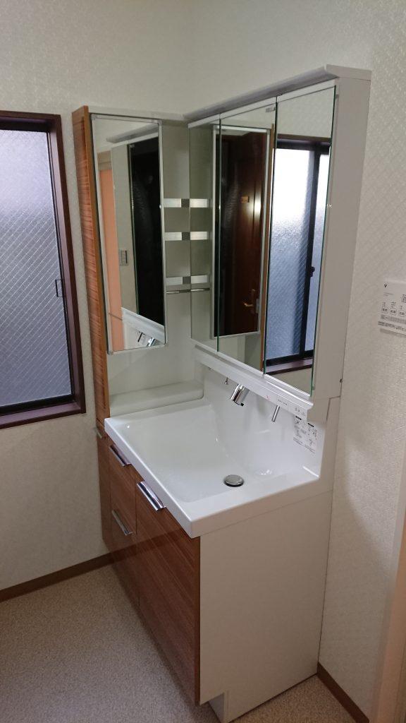 キッチン・お風呂・洗面の水まわり3点リフォーム