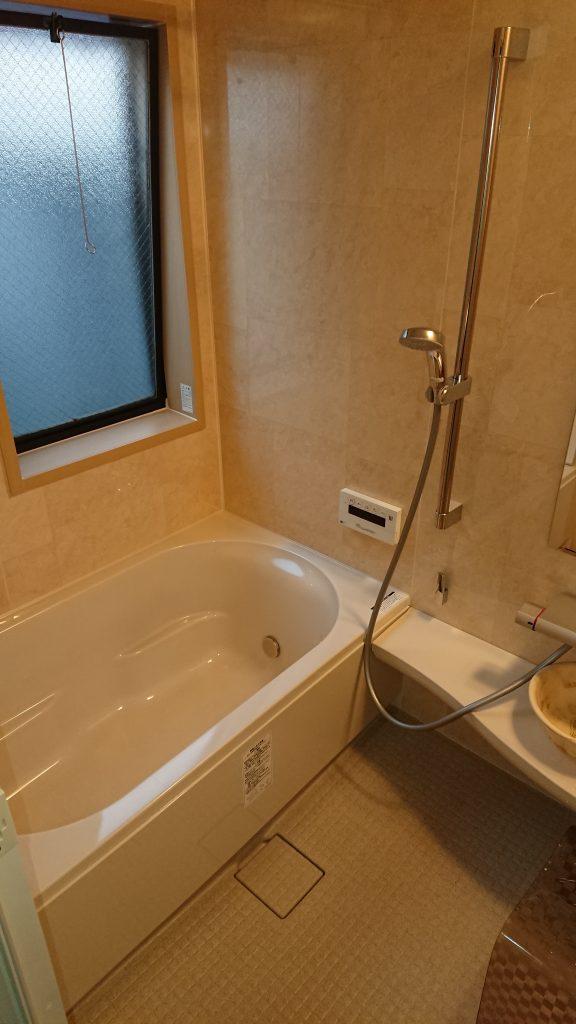 お風呂・キッチン・洗面の水まわり3点リフォーム 京都府長岡京市
