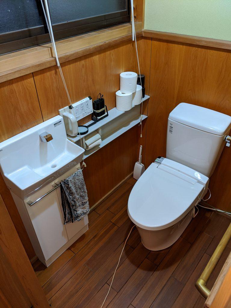 キレイなトイレで気分爽快
