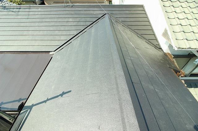 補助金を使った屋根ガルテクト葺き替え工事 京都府向日市