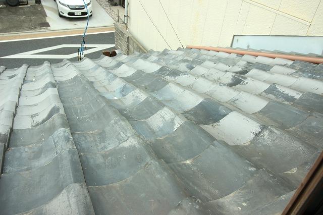 雨漏り箇所の屋根リフォーム 京都市伏見区