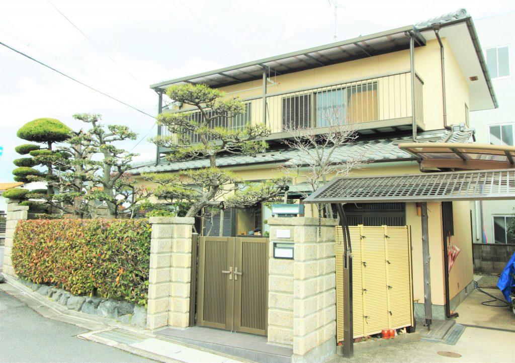 耐久性の高い外壁と屋根にリフォーム工事 京都府向日市