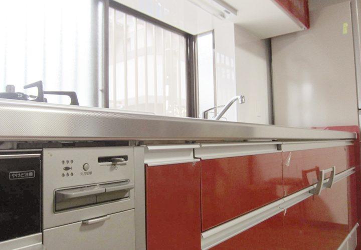 部屋が明るくなったキッチンリフォーム