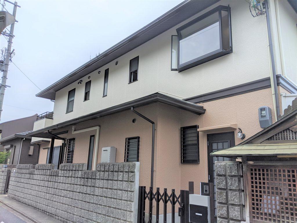 白を基調にしたシンプルハウス 京都市伏見区