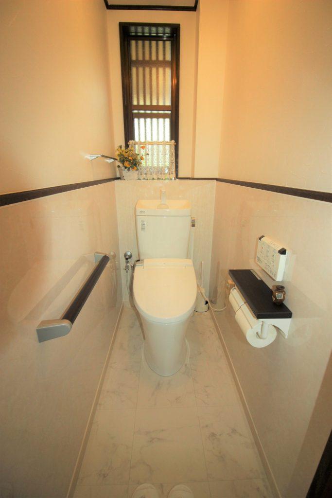 トイレ2ヶ所リフォーム 京都府長岡京市